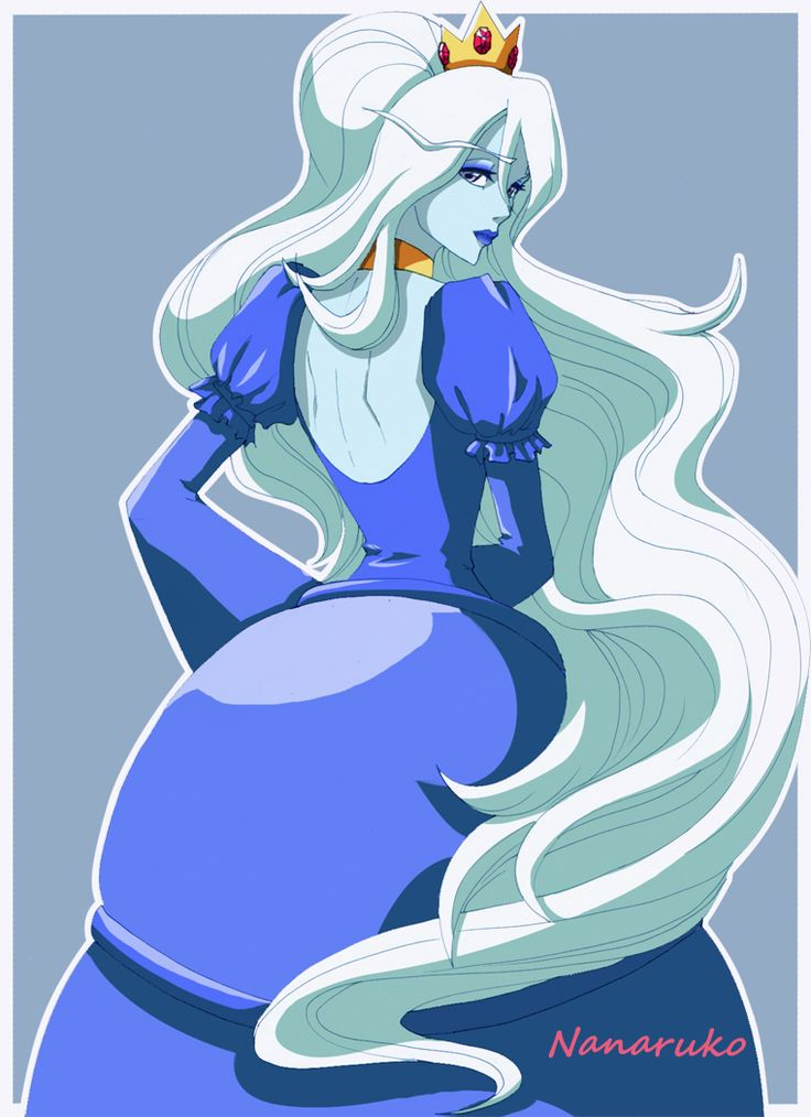 Ice Queen - Adventure Time by Nanaruko.deviantart.com on @deviantART