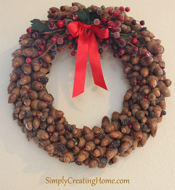 Acorn Wreath - Simply Creating Home