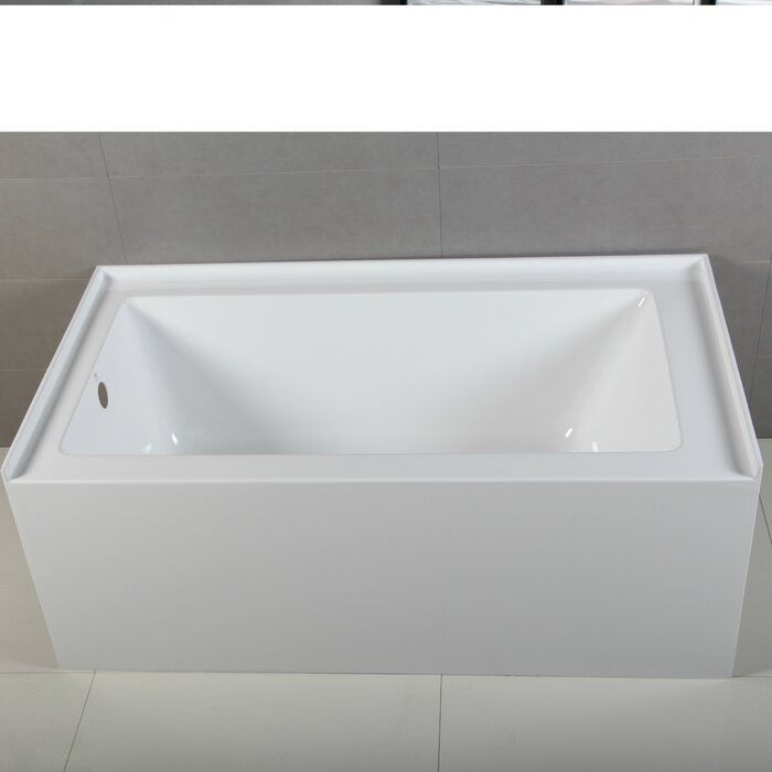 Apron Acrylic 54 X 30 Alcove Soaking Bathtub Soaking Bathtubs Bathtub Bathroom Renovations Perth