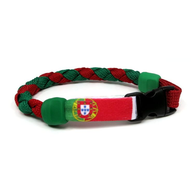 Portugal Soccer Nations Bracelet by Swannys