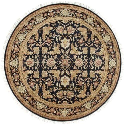 Surya TJ44-8RD Taj Mahal 8' Round Wool Hand Knotted Traditional Area Rug