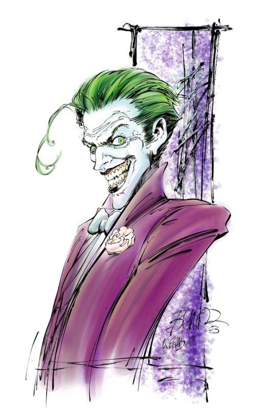 pin the joker art - photo #6