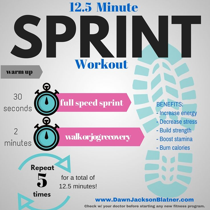 12.5+Minute+Sprint+Workout