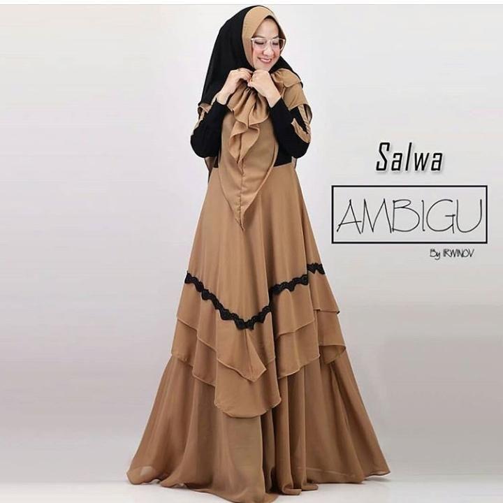 Model Gamis Ceruti 2019 Model Pakaian Model Pakaian Hijab Pakaian Wanita