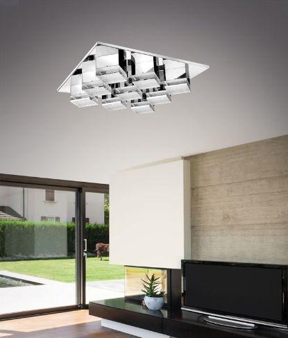 Kourtakis Lighting - Δεν χρειάζονται πολλά για να ομορφύνει το σπίτι μας, Αρκεί ένα απλό #φωτιστικο #οροφης διακοσμημένο με #κρυσταλλο για να μας δώσει τη φινέτσα και την πολυτέλεια που χρειαζόμαστε, αλλά και την οικονομία που προφέρουν οι ενσωματωμένες LED πλακέτες του. Αποκτήστε το: http://kourtakis-lighting.gr/fotistika-orofis-indoor-fotistika-krebatokamaras-fotistika-saloniou-diakosmisi/3530-led-moderno-fotistiko-orofis-37watt-krystallo-metallo-diamond-mx14009016-9b.html