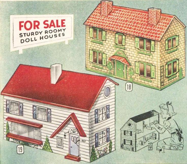 92 Best Antique Dollhouse Images On Pinterest