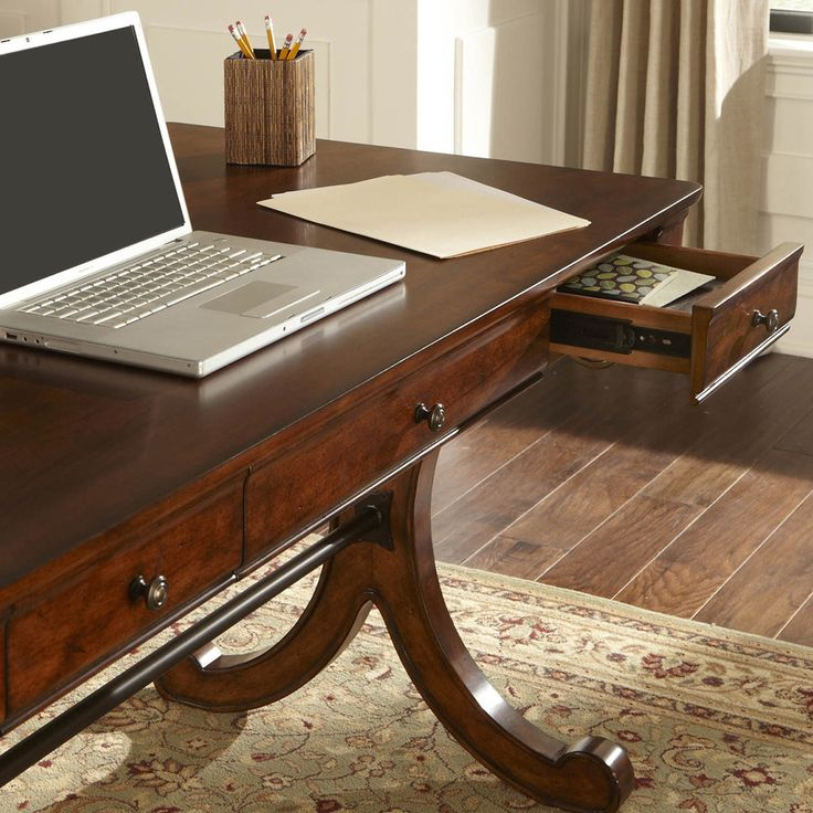 Liberty Rustic Cherry 54-inch Writing Desk - Overstock™ Shopping - Great Deals on Desks