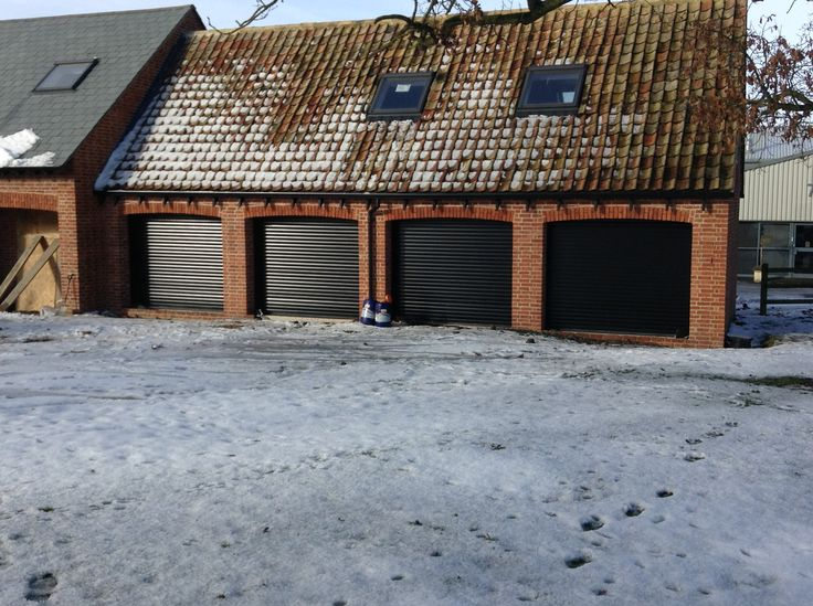 High quality insulated roller shutter garage doors