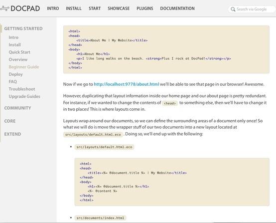 A really nice #CMS #docPad: http://docpad.org/docs/begin