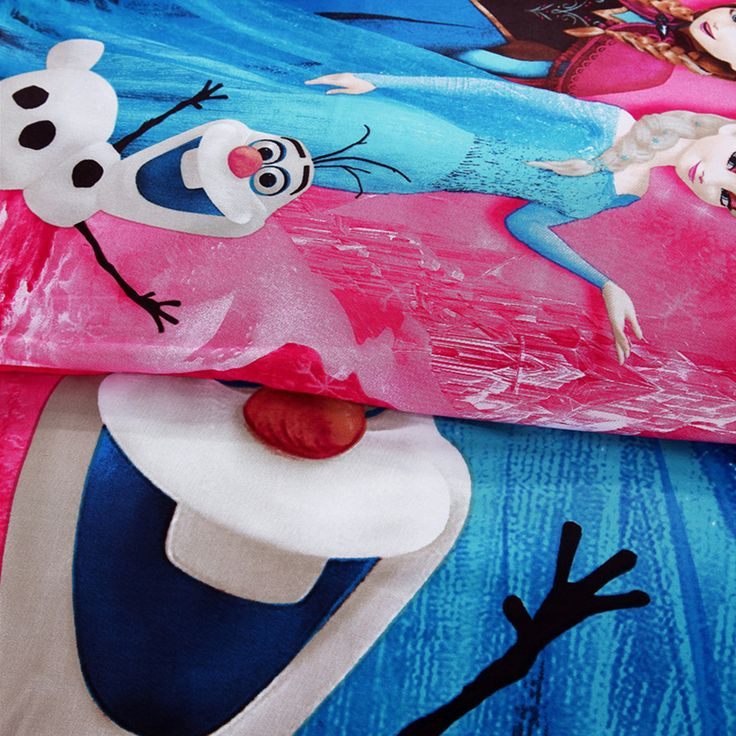 Beautiful Disney Frozen Bedding Set Cotton Pcs With Frozen Bed Set