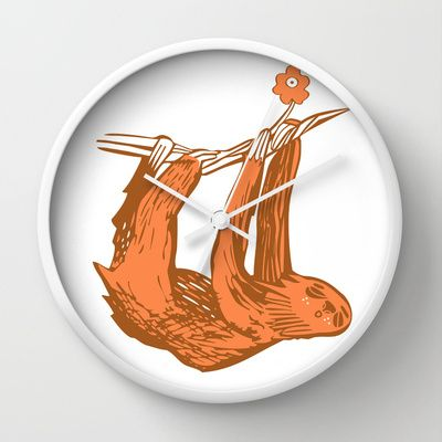 Passenger 2 Wall Clock by Silva Kuha - $30.00