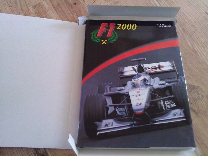For sale on www.online-carboot.co.uk Mclaren F1 year book 2000