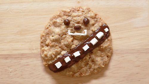 Star Wars Oatmeal Wookie Cookie by Rosanna Pansino | Chewie Nerdy Nummies Food Craft