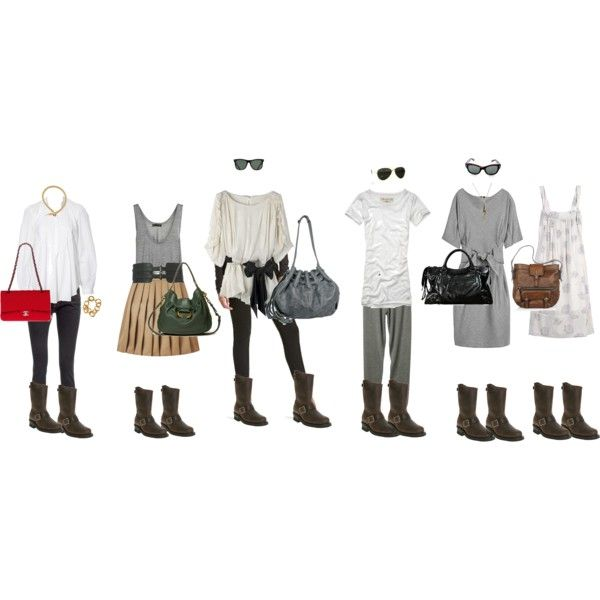 Outfits to wear my Frye engineer boots with