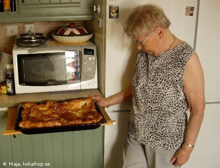 Recept - Mor Ennis fläskpannkaka