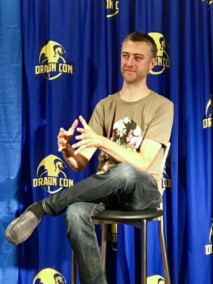Dragon Con is one of my favorite times of the year; this year one of the highlights was meeting Sean Gunn of Guardians of the Galaxy and Gilmore Girls fame.