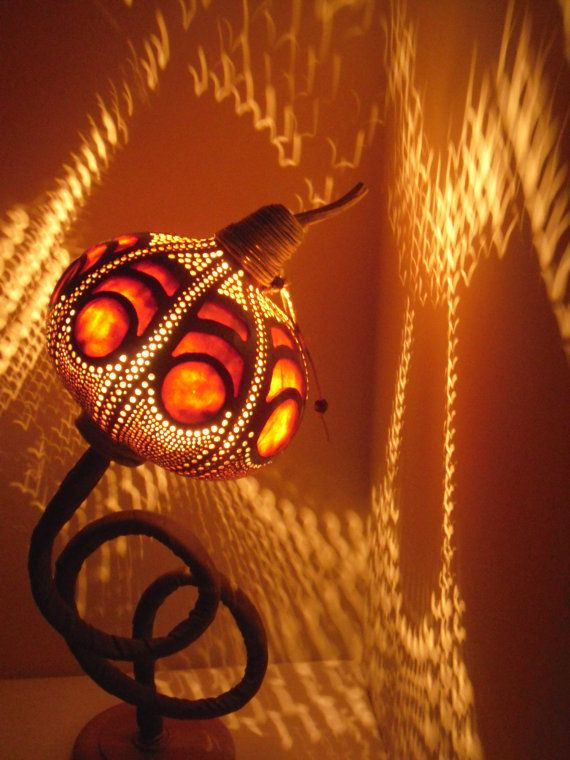 100% HANDMADE Gourd lamp,Kürbislampe handcrafted Ottoman Lampshade pendant lamp valentines day gift ideas