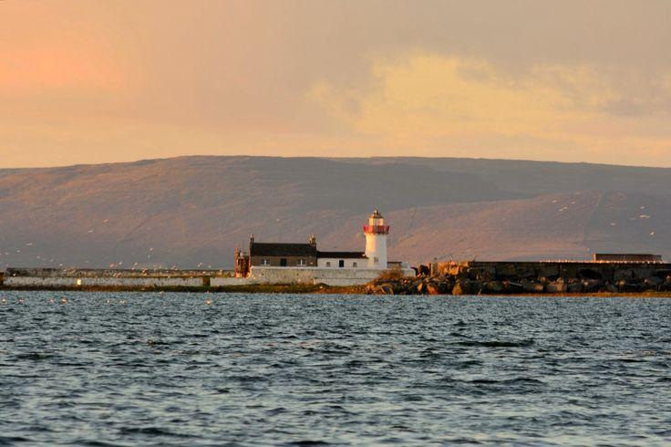 Mutton Island Light House Galway Bay