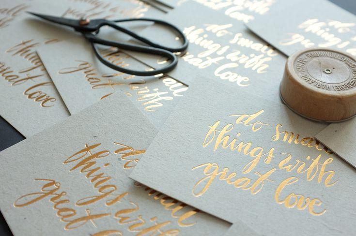 Design and Paper | Letterpress Greeting Cards by Marion Kamper | https://www.designandpaper.com