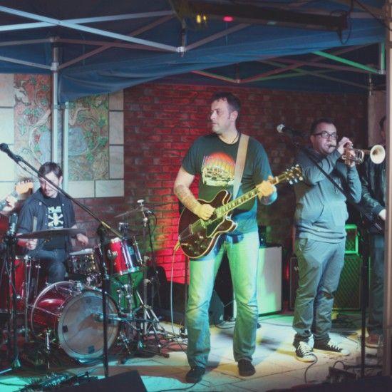 15.05.2015 - Koncert Tymona Tymańskiego z zespołem w Winnicy.