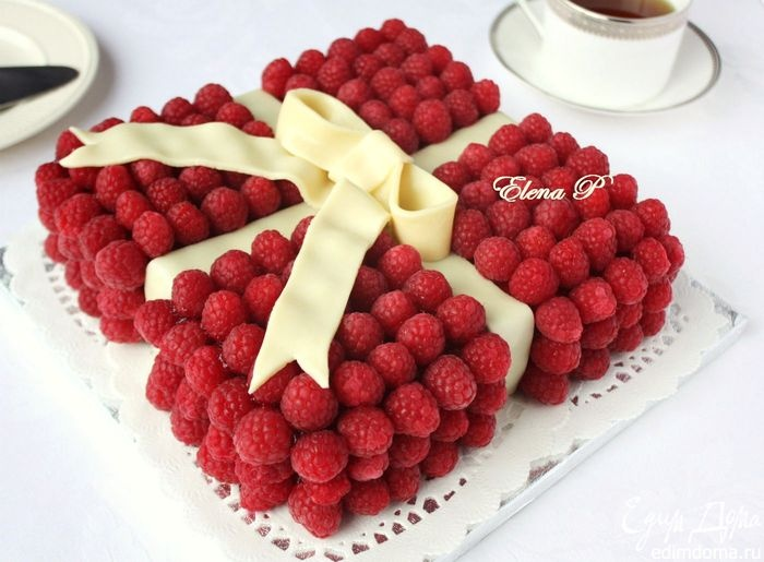 Very nice and not at all difficult, cake gift of summer.