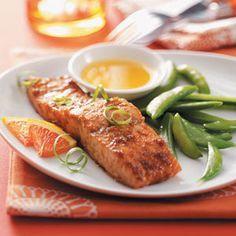 Balsamic Orange Salmon Recipe (Baking Salmon Recipes)