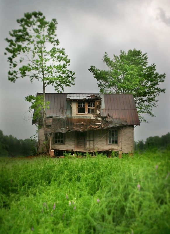 Yesteryear...: Little Houses, Trees Houses, Old Farms Houses, Shelters, Green Fields, Old Houses, Old Abandoned Houses, Old Country Houses, Abandoned Farms
