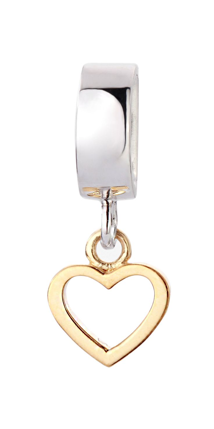 Joy de la Luz | Slide Open Heart goldplated