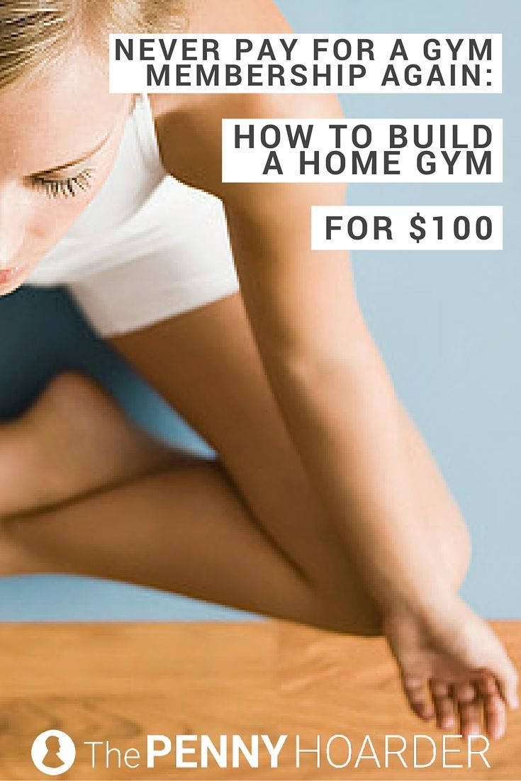 Fitness is imperative, but it doesn't have to be expensive. If you want to do your workout at home, here's how to build a cheap home gym that'll keep you and your wallet strong. - The Penny Hoarder http://www.thepennyhoarder.com/how-to-build-a-cheap-home-gym/