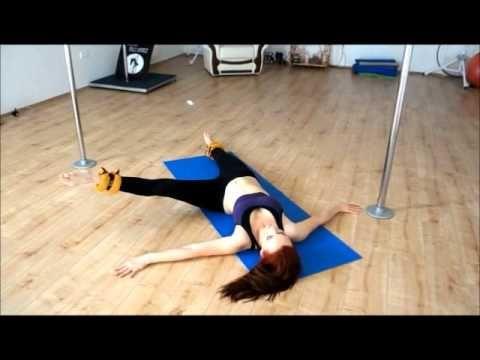 Conditioning workout for beginner /intermediate pole dancers music: Zero 7-Destiny ( Photek Remix )