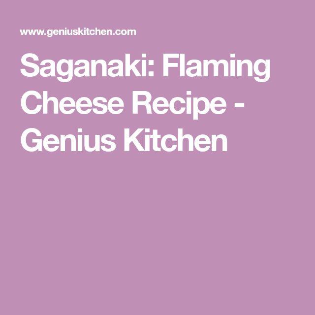 Saganaki: Flaming Cheese Recipe - Genius Kitchen