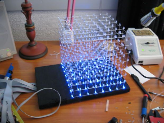 2244 best arduino raspberry pi electronics images on pinterest nothing brightens up a tech geeks room like an awesome led cube and hack n mod has got a couple of do it yourself instructions for building your own solutioingenieria Gallery