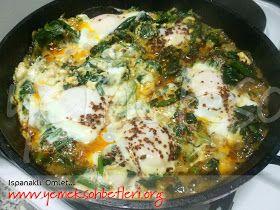 farkli omlet, ispanakli omlet, Ispanakli yemekler, omlet, peynirli omlet, yoreselyemekler, yumurtali tarifler, kahvaltilik, kahvaltiliklar,