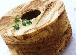 Coffee Marble Chiffon Cake | Washoku.Guide