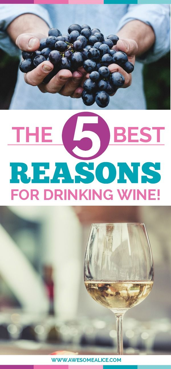 Wine drinkers have never had it as good as today. A glass of wine doesn't just taste like heaven, but it's healthy too. Here are 5 reasons for drinking wine