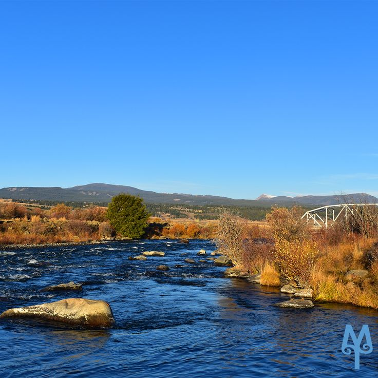 Fall On The Upper Madison River, Three Dollar Bridge...Locate this spectacular fly fishing spot on the Free Madison River Photo Map from Montana Treasures. Select Menu item 'M43' to view it and and its location on an underlying Google map.