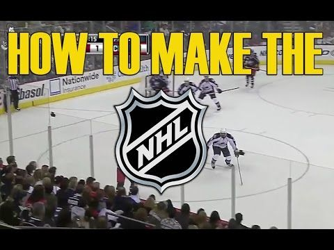 How to make it to the NHL - What it takes to become a Pro hockey player - http://hockeyvideocenter.com/how-to-make-it-to-the-nhl-what-it-takes-to-become-a-pro-hockey-player/