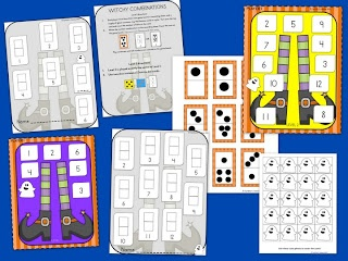 Beginning math game with 2 levels based on Common Core Standard for kindergarten FREE!