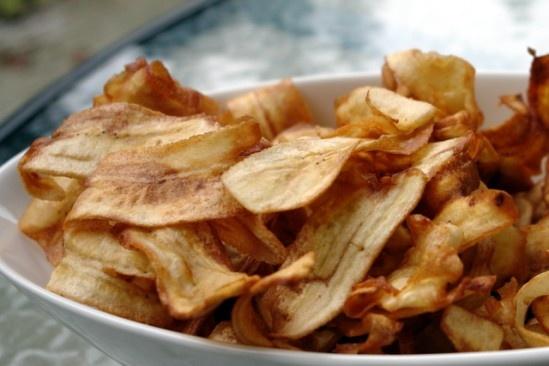 Green Banana (Matoke) Crisps - ©The Kenyan Food Blog