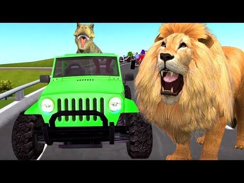 (21) Animals Song | Finger Family Rhyme | Animals Nursery Rhymes | Daddy Finger Family Song | Kids Rhymes - YouTube
