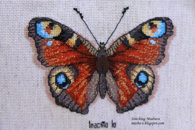 Бабочка Inachio Io, Рукодельные забавы RZ-4/006
