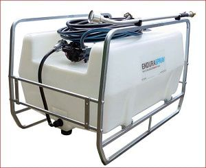 400 litres skid mounted water bowser. We offer different pumps and other add-on for easy watering of large gardens, hanging baskets, orchards, vegetable plots and more. For more info contact us at: http://www.fresh-group.com/waterers-and-bowsers.html