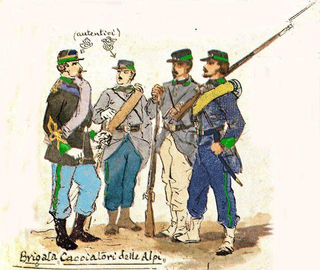 "HE ITALIAN WARS OF INDEPENDENCE: ""Cacciatori delle Alpi"""