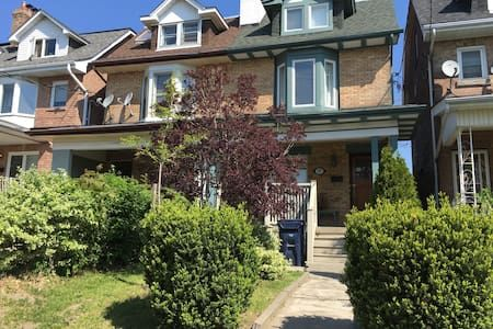 Check out this awesome listing on Airbnb: Downtown Rustic Home In Vibrant Neighbourhood - Apartments for Rent in Toronto