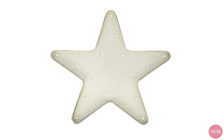 Star LED Wall Light at Laura Ashley