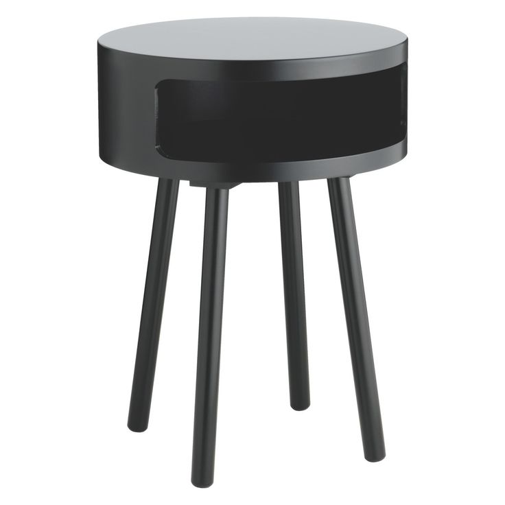 BUMBLE Black side table