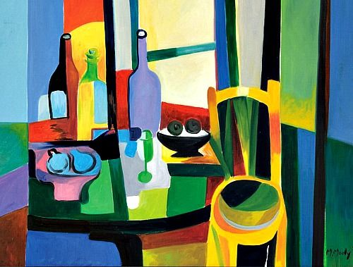 Marcel Mouly, The Quiet Life with a Chair, 1996