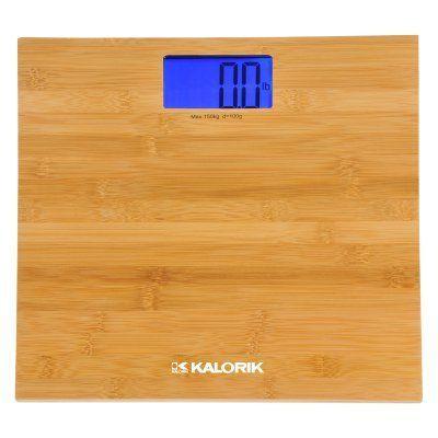 Photo Of Kalorik Digital Bamboo Bathroom Scale EBS