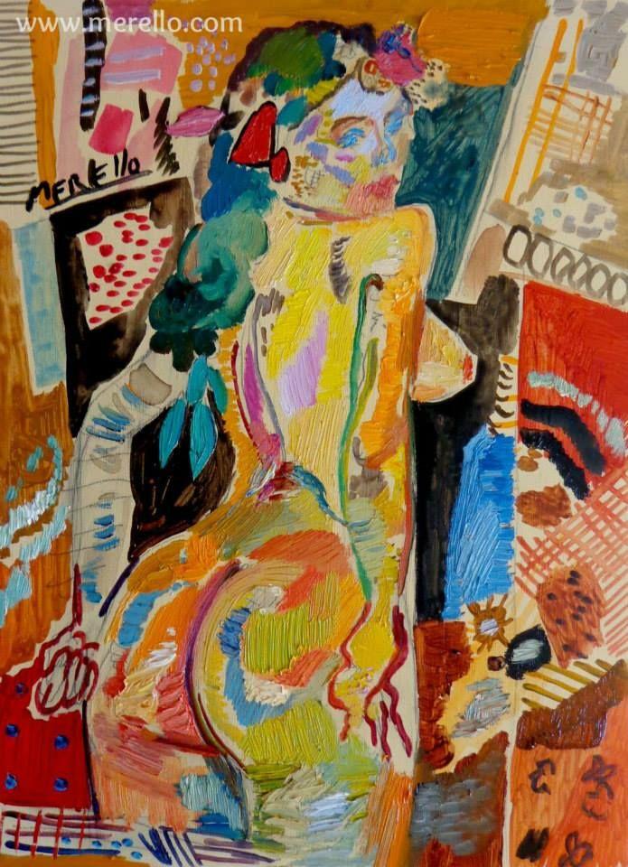 """EXPRESSIE, TECHNIEK, EMOTIE...KUNST  Jose Manuel Merello.-  """"Beautiful girl.""""  HEDENDAAGSE KUNST. Moderne schilderkunst. Hedendaagse Spaanse schilders. Artiesten XXI-21 de eeuw. Amsterdam, Madrid, Parijs, kunst, luxe en decoratie. ACTUELE KUNST. Modern Art. Investering. http://www.merello.com"""