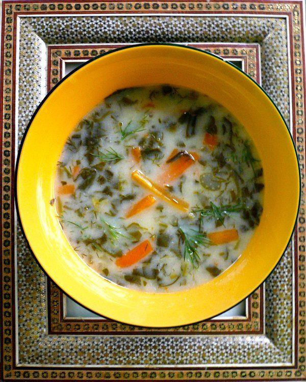 τουρκική σούπα με σπανάκι (Ispanak Corbasi)